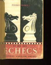 Le Jeu Des Echecs - Couverture - Format classique