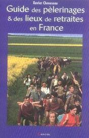 Guide des pèlerinages et des lieux de retraites en France - Intérieur - Format classique