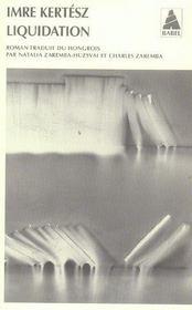 Liquidation Babel 707 - Intérieur - Format classique