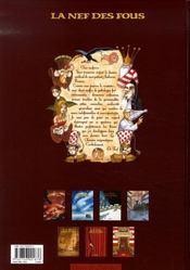 La nef des fous t.6 ; les chemins énigmatiques - 4ème de couverture - Format classique