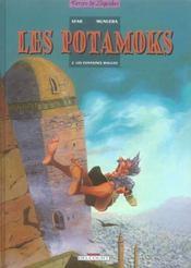 Les Potamoks t.2 ; les fontaines rouges - Intérieur - Format classique
