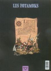Les Potamoks t.2 ; les fontaines rouges - 4ème de couverture - Format classique