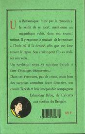 Affaires De Bijoux - 4ème de couverture - Format classique