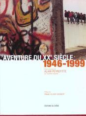 Coffret L'Aventure Du Xxe Siecle, 1900-1945 & 1946-1999 - 4ème de couverture - Format classique