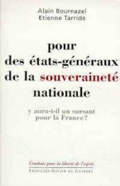 Pour Des Etats-Generaux De La Souverainete Nationale - Couverture - Format classique