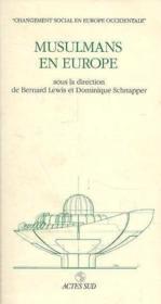 Musulmans en europe - Couverture - Format classique