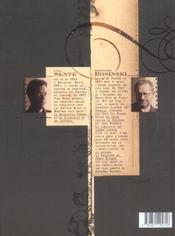 La vengeance du comte Skarbek t.1 ; deux mains d'or - 4ème de couverture - Format classique