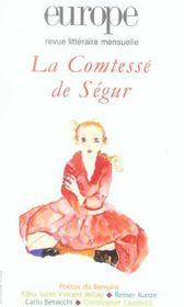 Europe La Comtesse De Segur N914/915 - Intérieur - Format classique