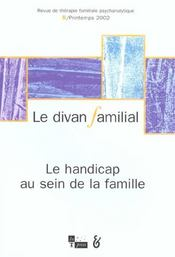 Revue Le Divan Familial N.8 - Intérieur - Format classique