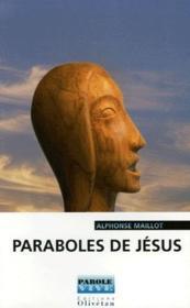 Paraboles de Jésus - Couverture - Format classique