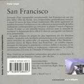 Guide D'Architecture San Francisco - 4ème de couverture - Format classique