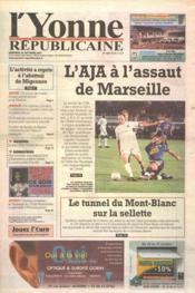 Yonne Republicaine (L') N°249 du 26/10/2001 - Couverture - Format classique
