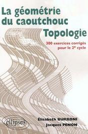 La Geometrie Du Caoutchouc Topologie 300 Exercices Corriges Pour Le 2e Cycle - Intérieur - Format classique