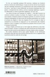 La Geometrie Du Caoutchouc Topologie 300 Exercices Corriges Pour Le 2e Cycle - 4ème de couverture - Format classique