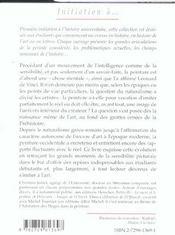 Introduction A La Peinture - 4ème de couverture - Format classique