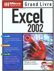 Grand Livre Excel 2002 - Intérieur - Format classique