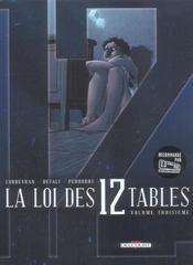 La loi des 12 tables t.3 - Intérieur - Format classique