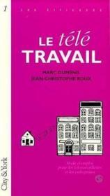 Teletravail - Couverture - Format classique