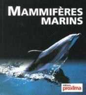 Mammiferes Marins - Couverture - Format classique