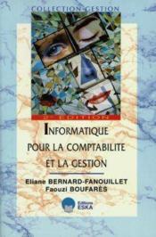 Informatique Pour La Comptabilite Et La Gestion - Couverture - Format classique