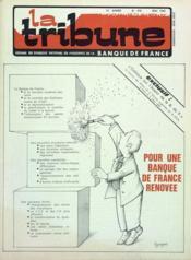 Tribune (La) N°470 du 01/04/1982 - Couverture - Format classique