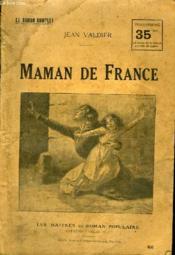 Maman De France. - Couverture - Format classique