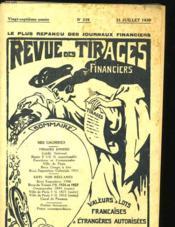 Revue Des Tirages Financiers - 27eme Annee - N°319 - Couverture - Format classique