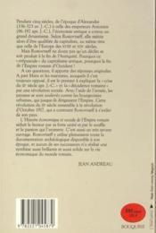 Histoire Economique Et Sociale De L'Empire Romain - Couverture - Format classique