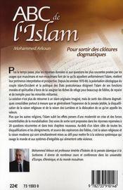 ABC de l'Islam - 4ème de couverture - Format classique
