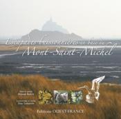 Escapades buissonnieres en baie du mont-saint-michel - Couverture - Format classique