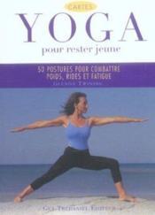 Yoga pour rester jeune - Couverture - Format classique