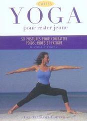 Yoga pour rester jeune - Intérieur - Format classique