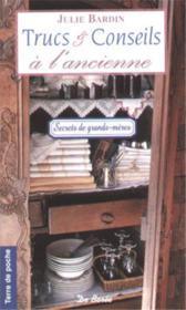 Trucs Et Conseils A L'Ancienne (Poche) - Couverture - Format classique