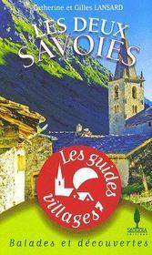 Les deux Savoies - Couverture - Format classique