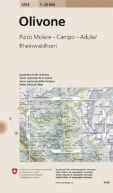 Olivone ; Pizzo Molare, Campo, Adula (édition 2014) - Couverture - Format classique