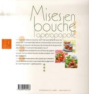 Mise en bouche - 4ème de couverture - Format classique