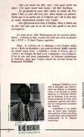 Le Kafir Du Khartala - 4ème de couverture - Format classique