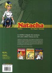 Natacha ; intégrale t.1 ; panique à bord - 4ème de couverture - Format classique
