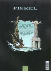 Finkel t.3 ; genos - 4ème de couverture - Format classique