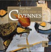 Table mise en Cévennes - Couverture - Format classique