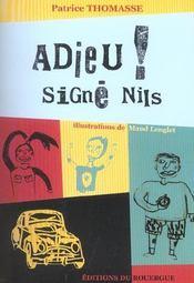 Adieu ! signé Nils - Intérieur - Format classique