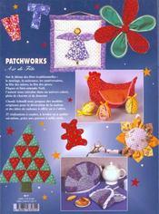 Patchworks Air De Fete - 4ème de couverture - Format classique