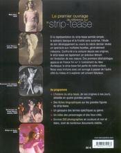 Strip-tease ; histoire et légendes - 4ème de couverture - Format classique