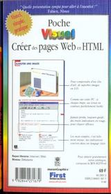 Poche Visuel Creer Des Pages Web En Html - 4ème de couverture - Format classique
