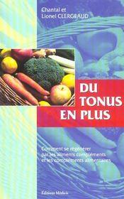 Les complements alimentaires - Intérieur - Format classique