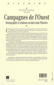 Campagnes De L Ouest - 4ème de couverture - Format classique