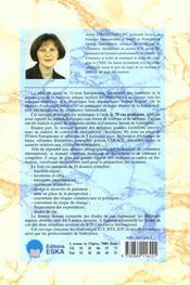 Management des operations de commerce international - 10 dossier et 70 cas - 4ème de couverture - Format classique