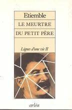 Meurtre Du Petit Pere (Le) - Couverture - Format classique