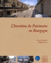 L'invention du patrimoine en Bourgogne - Couverture - Format classique