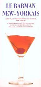 Le barman new-yorkais - Intérieur - Format classique